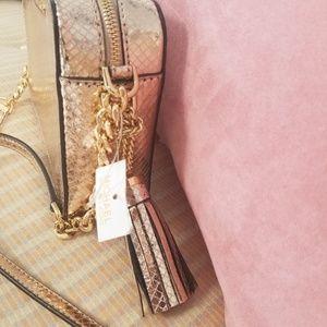 Michael Kors Rose Gold Snake Bag
